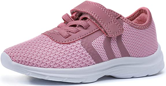 PromArder Toddler Lightweight Breathable Running Shoes Casual Fashion Sneakers for Little Kid Boys Girls