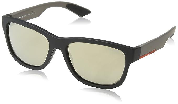Prada Linea Rossa 0Ps 03Qs, Gafas de sol para Hombre, Black ...