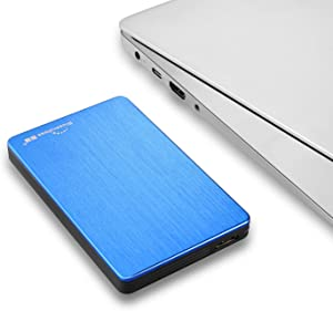 "2.5"" Portable External Hard Drive USB3.0 Hard Disk for Desktop,Laptop,PC (500gb-blue)"