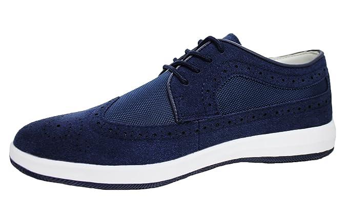 Scarpe Francesine uomo blu casual sneakers sportive man s shoes (44 ... ca5c5f4a954