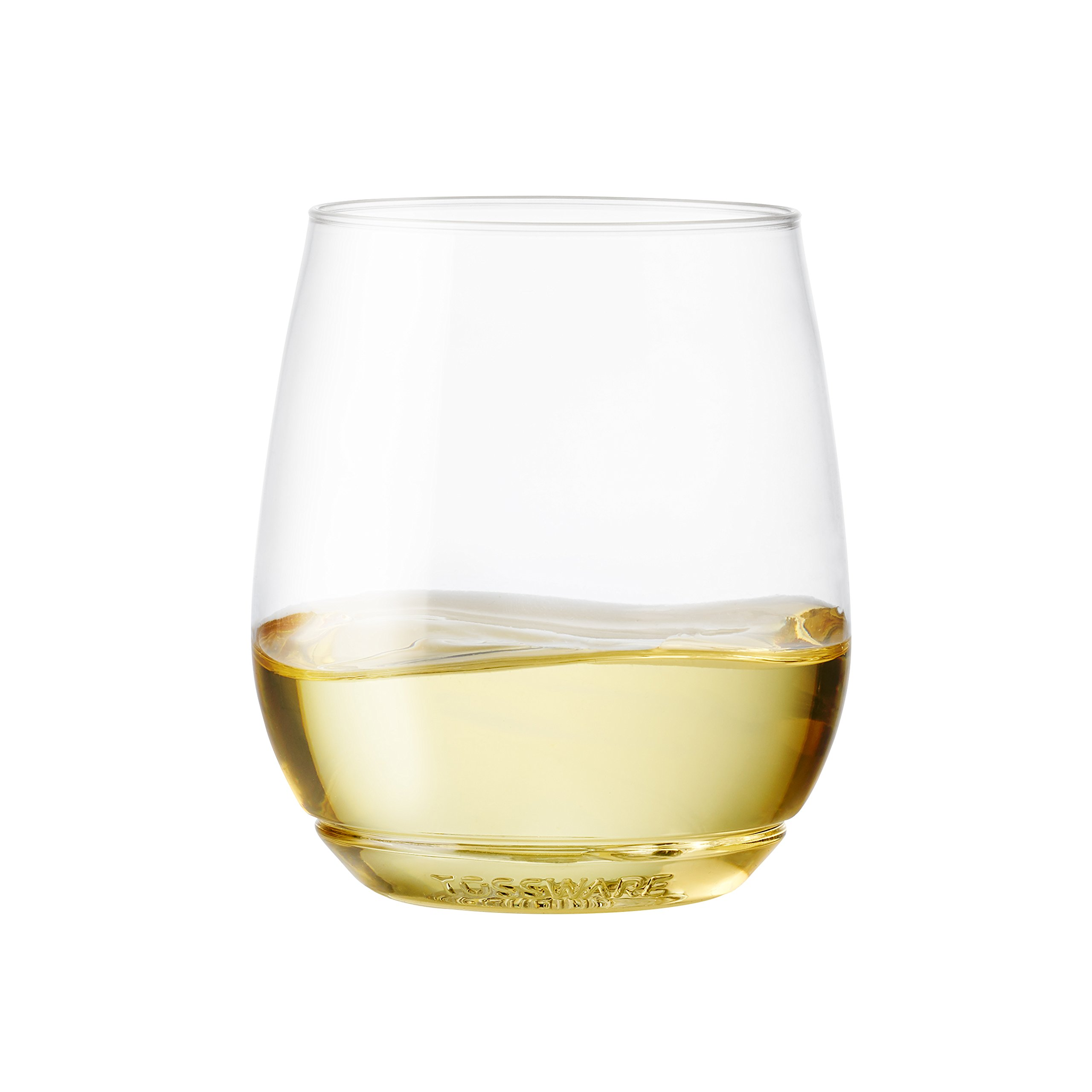 TOSSWARE 14oz Shatterproof Wine & Cocktail Glass, SET OF 12 BPA-FREE Upscale Recyclable/Disposable Plastic Wine Cups by TOSSWARE (Image #2)
