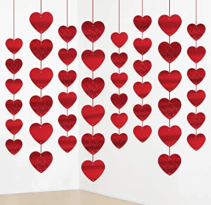 LARGE STRING QUILTED HEART WALL HANGING Handmade in USA  # V