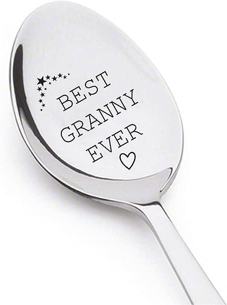 Wooden Spoon Gift Grandma/'s Kitchen Spoon Gift for Grandma Mother/'s Day gift Gift for Grandma Made with Love in Grandma/'s Kitchen Spoon