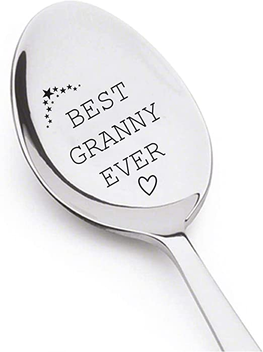 Grandpa Stainless Steel pregnancy reveal to grandparents Best Grandpa Ever Spoon Grandpa gifts Best selling items papa gifts spoon#SP/_076 Funny gifts dad gifts