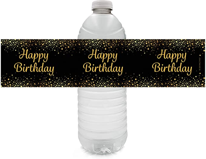 LA122 Our little sunshine birthday label Water Bottle Labels Sunshine Party decorations 1st Birthday