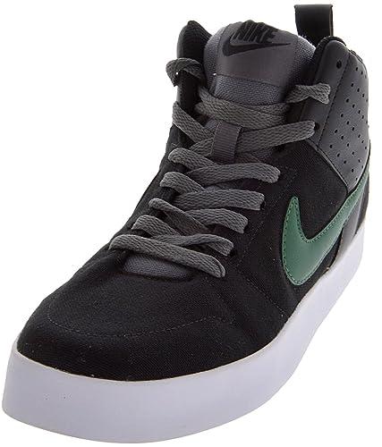 Nike Men's Liteforce Black, George Green, White and Dark Grey Sneakers -7 UK