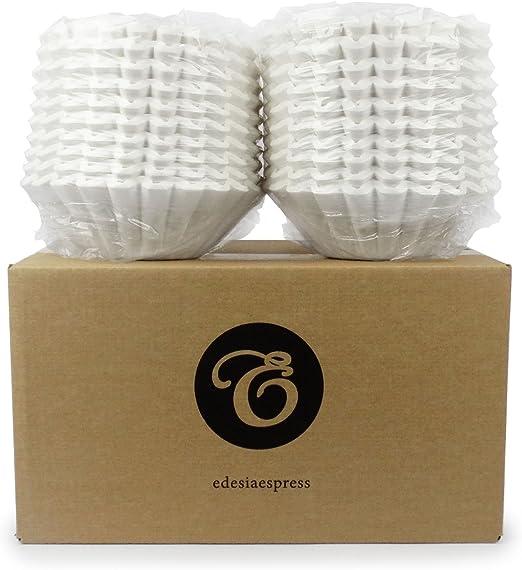 EDESIA ESPRESS - Pack de 1000 filtros de papel para café - Para ...