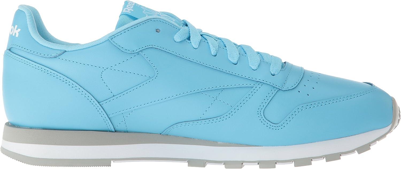 Reebok Classic Leather, Tennis Homme Digi Digital Bleu Blanc G