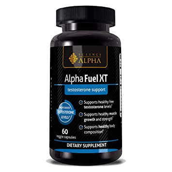 Testosterone Booster for Men - Alpha Fuel XT By Science of Alpha - Men's  Extra Strength Natural