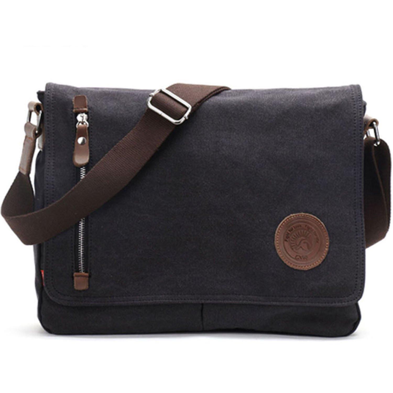 Canvas Messenger bag Crossbody Bag Satchel Bag Book bag Laptop Bag Working  Bag Laptop Bag Computer b586a6f281