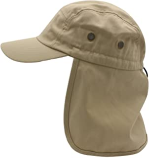 327d3c8640a Premium Fishing Cap By Top Level - Unisex Wide Brim Adjustable Polyester  Fabric Hat - With