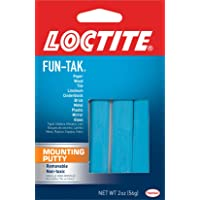 Loctite Fun-Tak Mounting Putty, 2-Ounce, 12-Pack (1270884-12)