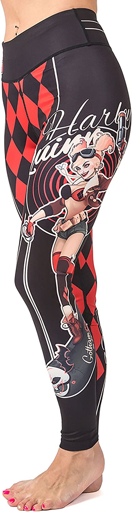 Fusion Fight Gear Harley Quinn Girls BJJ Spats Leggings