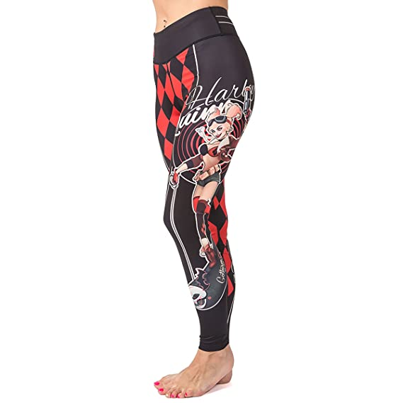 Fusion Fight Gear Harley Quinn Girls BJJ Spats Leggings