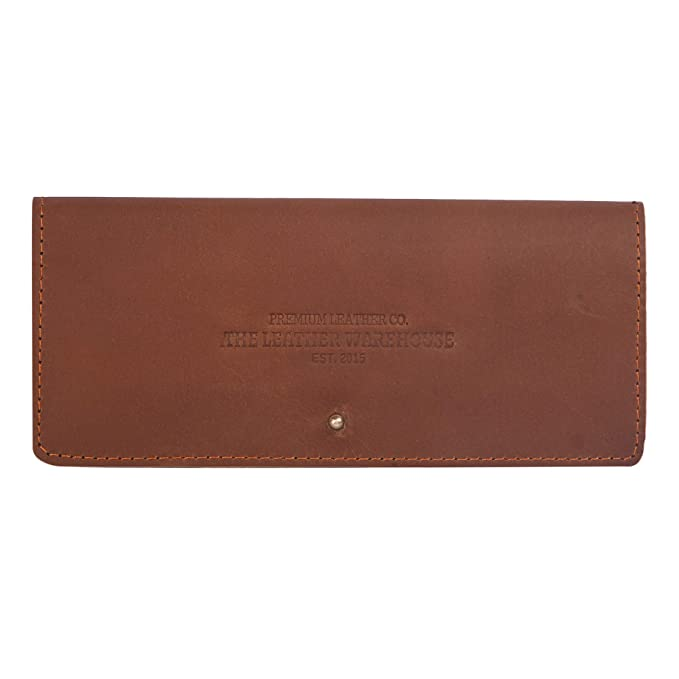 Amazon.com: The Leather Warehouse - Funda para gafas de sol ...
