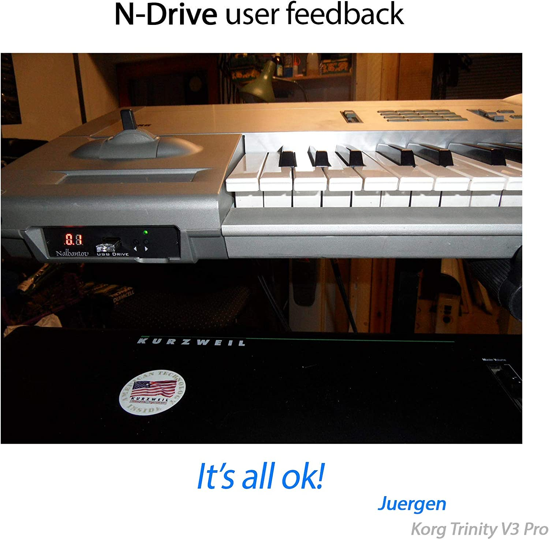 Nalbantov N-Drive 100 un emulador de disquetera USB para Korg ...