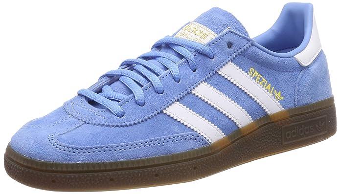 Adidas Spezial Sneakers Hellblau mit weißen Streifen