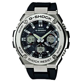 CASIO Reloj Analógico-Digital para Hombre Correa en Resina GST-W110-1AER: Amazon.es: Relojes