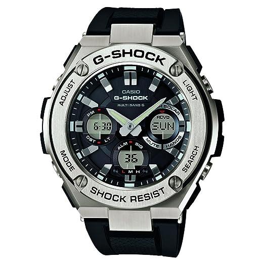 d26148f248d6 CASIO Reloj Analógico-Digital para Hombre Correa en Resina GST-W110-1AER   Amazon.es  Relojes