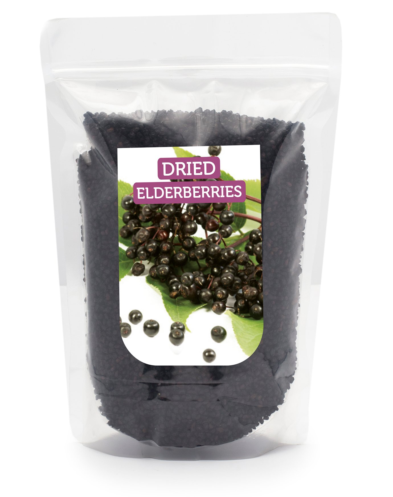 HerbaNordPol Dried ELDERBERRIES from Europe Premium Quality 900GR 2LB by Herbanordpol