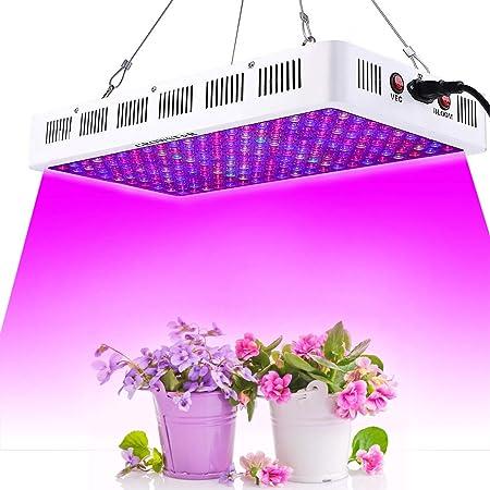 1000W LED Grow Light Plant Veg Flower Bloom Full Spectrum Lamp  Greenhouse Garde