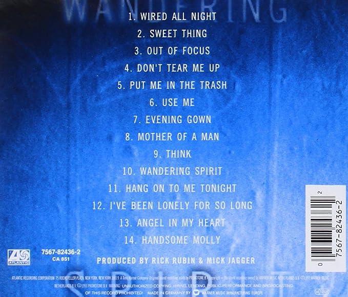 Wandering Spirit: Amazon.co.uk: Music