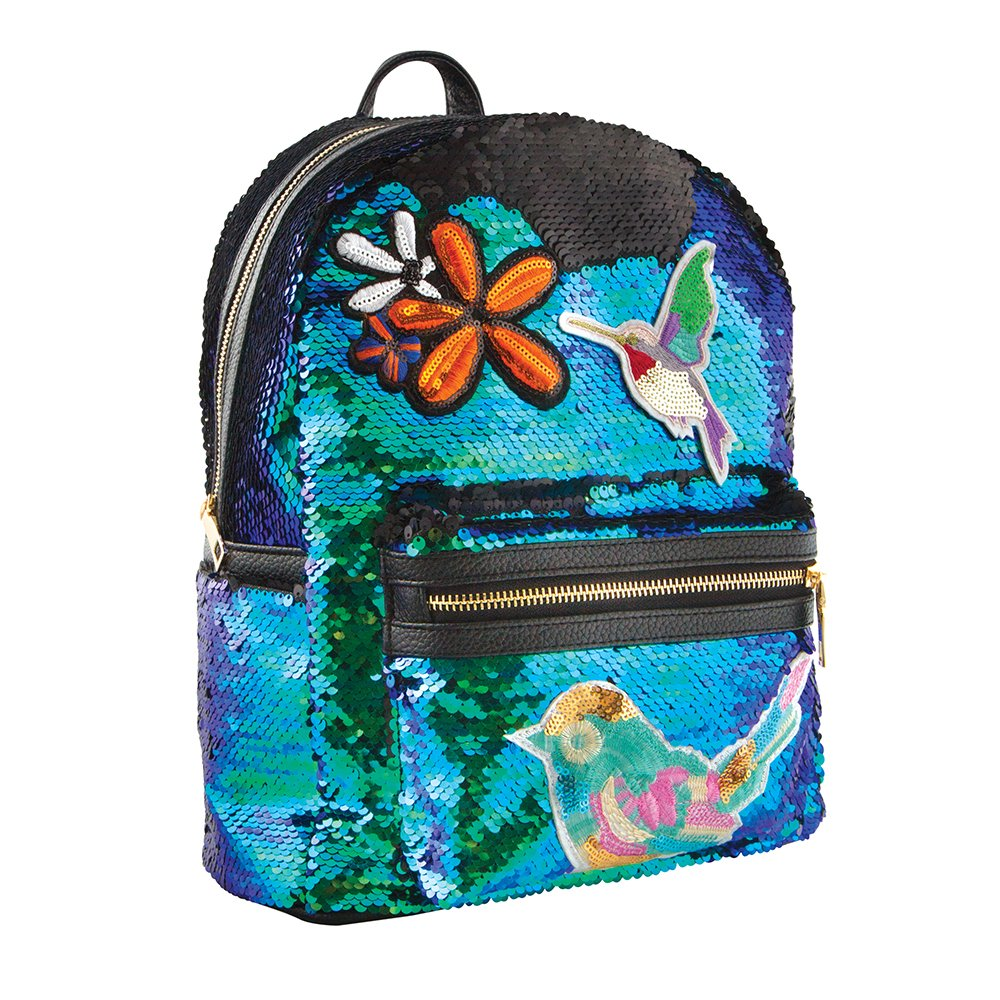 Style.Lab by Fashion Angels Magic Sequin Mini Backpack, Mermaid