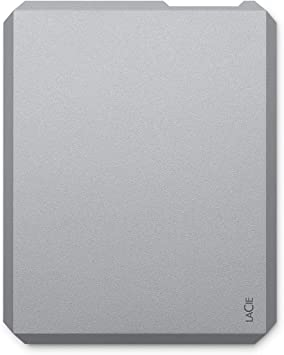 LaCie 500GB Mobile SSD High-Performance External SSD USB-C USB 3.0 ...