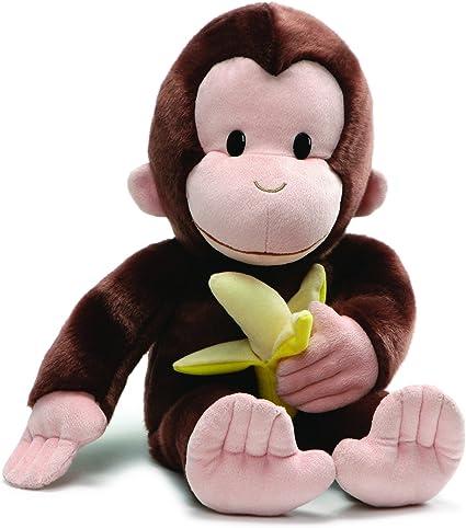 "Curious George Stuffed Animal Large Plush Doll 14/"" New"