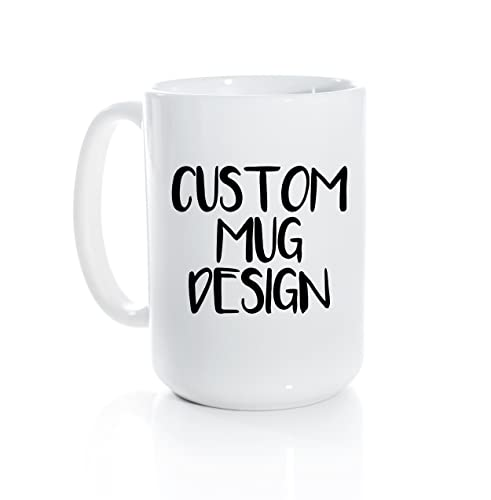 Coffee Mug Personalized Clover Design And Own Custom Choose Your Text Gift Fox WEDH29I