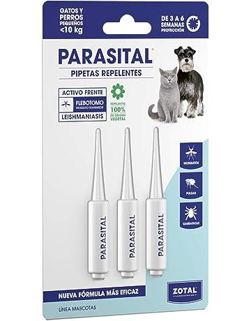 Zotal PARASITAL Pipeta Repelente Gatos y Perros 3 Unidades