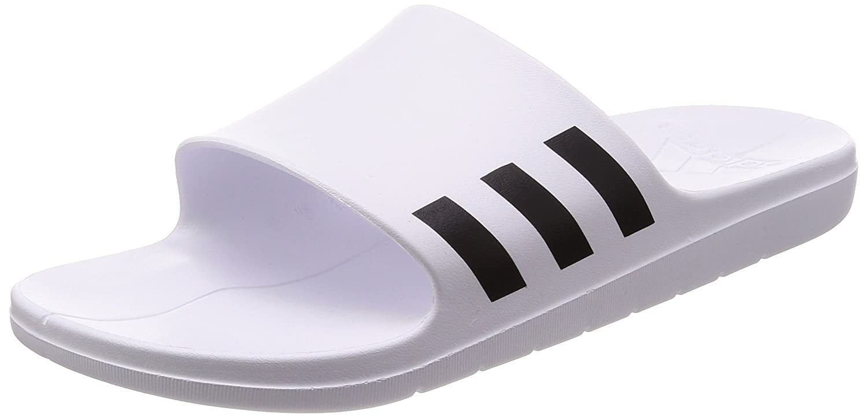 adidas Hoops 2.0 W, Chaussures de Fitness Femme, Blanc (Ftwbla/Ftwbla/Griuno 000), 42 2/3 EU