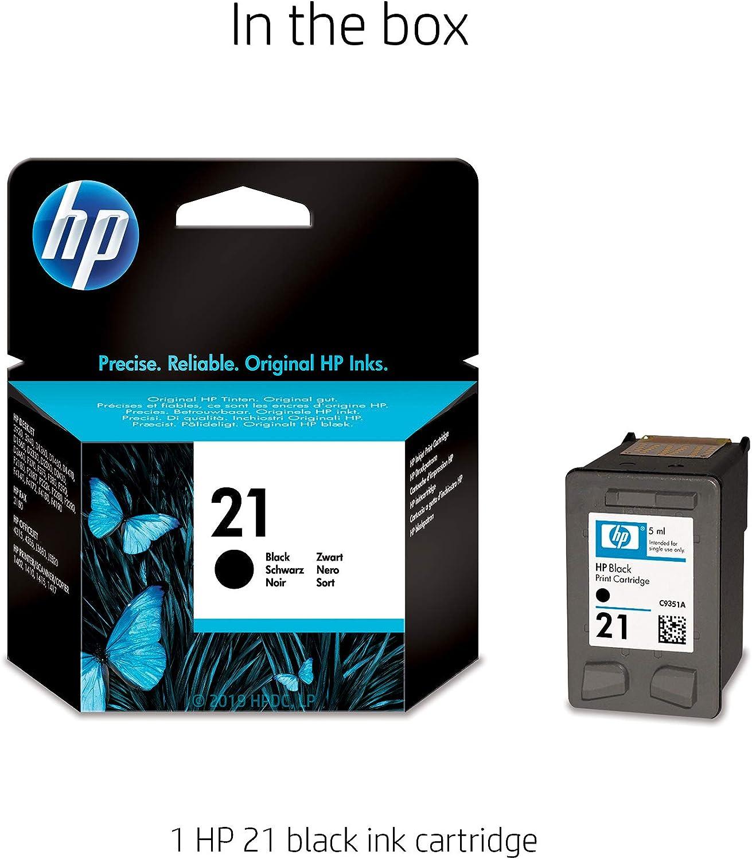 Amazon.com: HP 21 | Cartucho de tinta | Negro | C9351AN ...