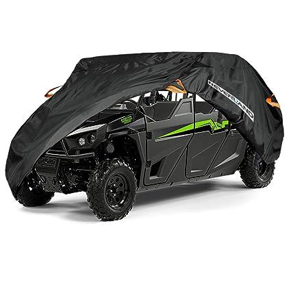 Amazon.com: NEVERLAND Waterproof UTV Storage Cover for Yamaha Viking VI Ranch Can-Am Defender Max Arctic Cat 4-6 Passenger: Automotive