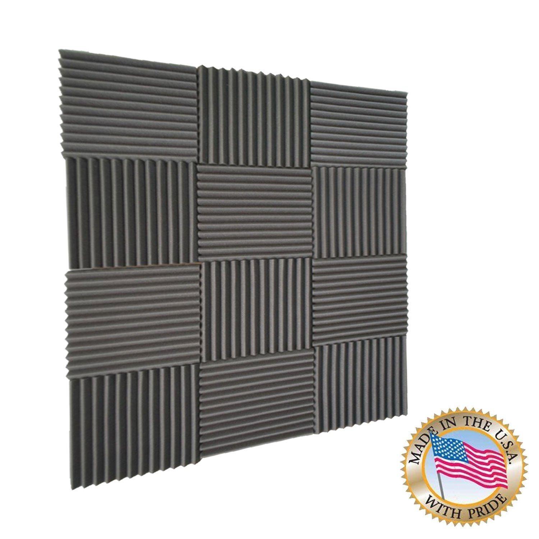 96 unidades paneles acústica Studio espuma cuñas 2