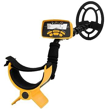Detector de metales Oro de mano con pantalla LCD y múltiples modos de búsqueda por Express Panda®: Amazon.es: Jardín