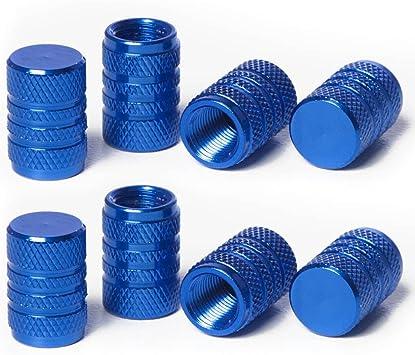 Circuit Performance VC3 Series Blue Aluminum Valve Stem Caps 8 Pieces