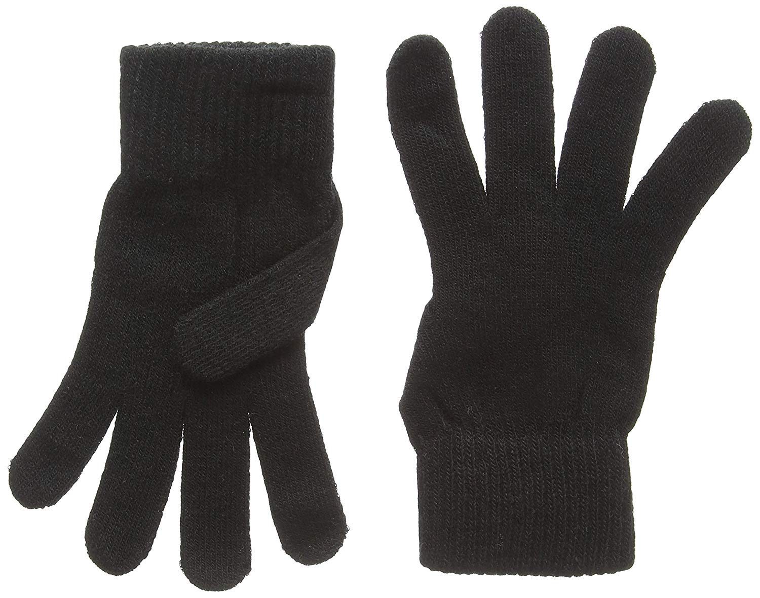 Magic Winter Touch Screen Stretch Knitted Gloves Style Cozy Pair phones and ipods Hand Warming Comfortable Gloves