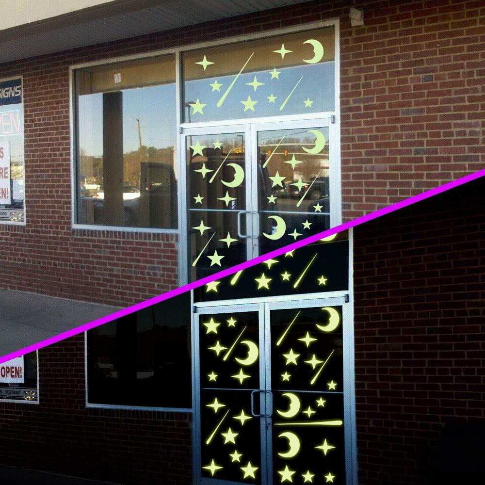 Luminoso Pegatinas de Pared ETSAMOR 216 pcs Luna y Estrellas Luminosas Pegatinas para el Techo Adhesivas DIY Decoraci/ón de la habitaci/ón Dormitorio Para Chico Ni/ña Beb/é
