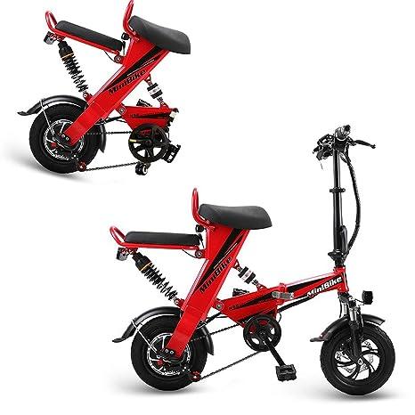AA100 Bicicleta eléctrica, Plegable para Adultos ...