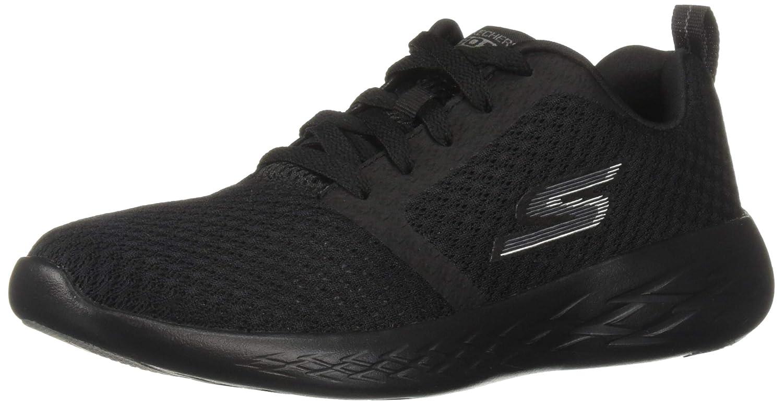 Noir Skechers GOrun 600 Circulate, Chaussures de Sport Femme 39 EU
