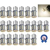 AOKEzl 20 Pack Extremely Super Bright 1156 1141 1003 1073 BA15S 7506 64 SMD 3014 LED