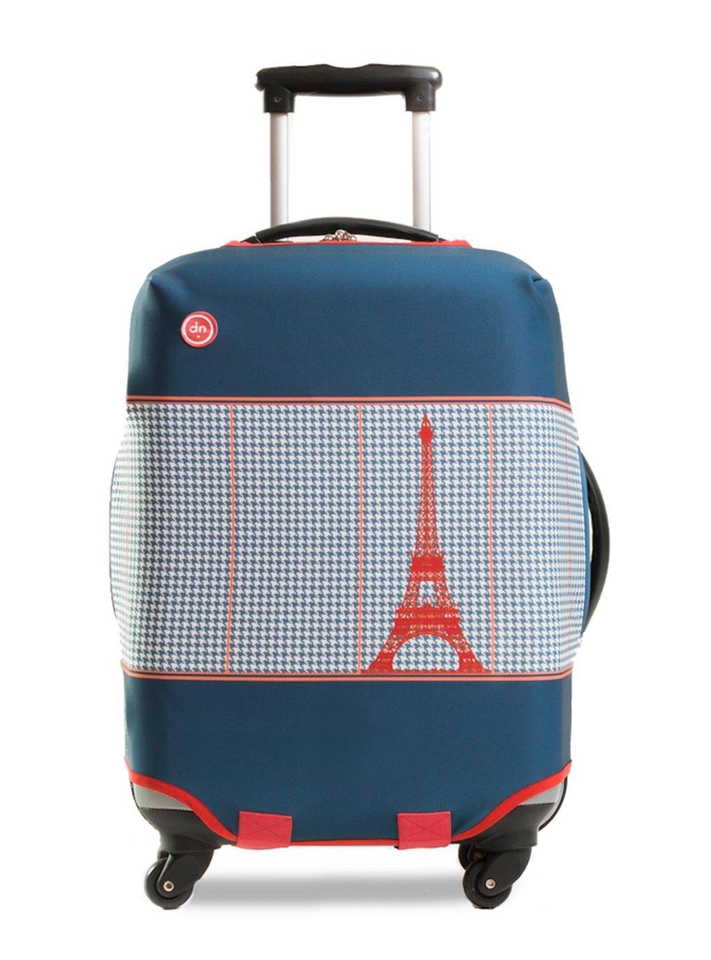 Dandy Nomad Housse de valise Paname Bleu Regenhülle, 26 cm, Blau (Bleu)