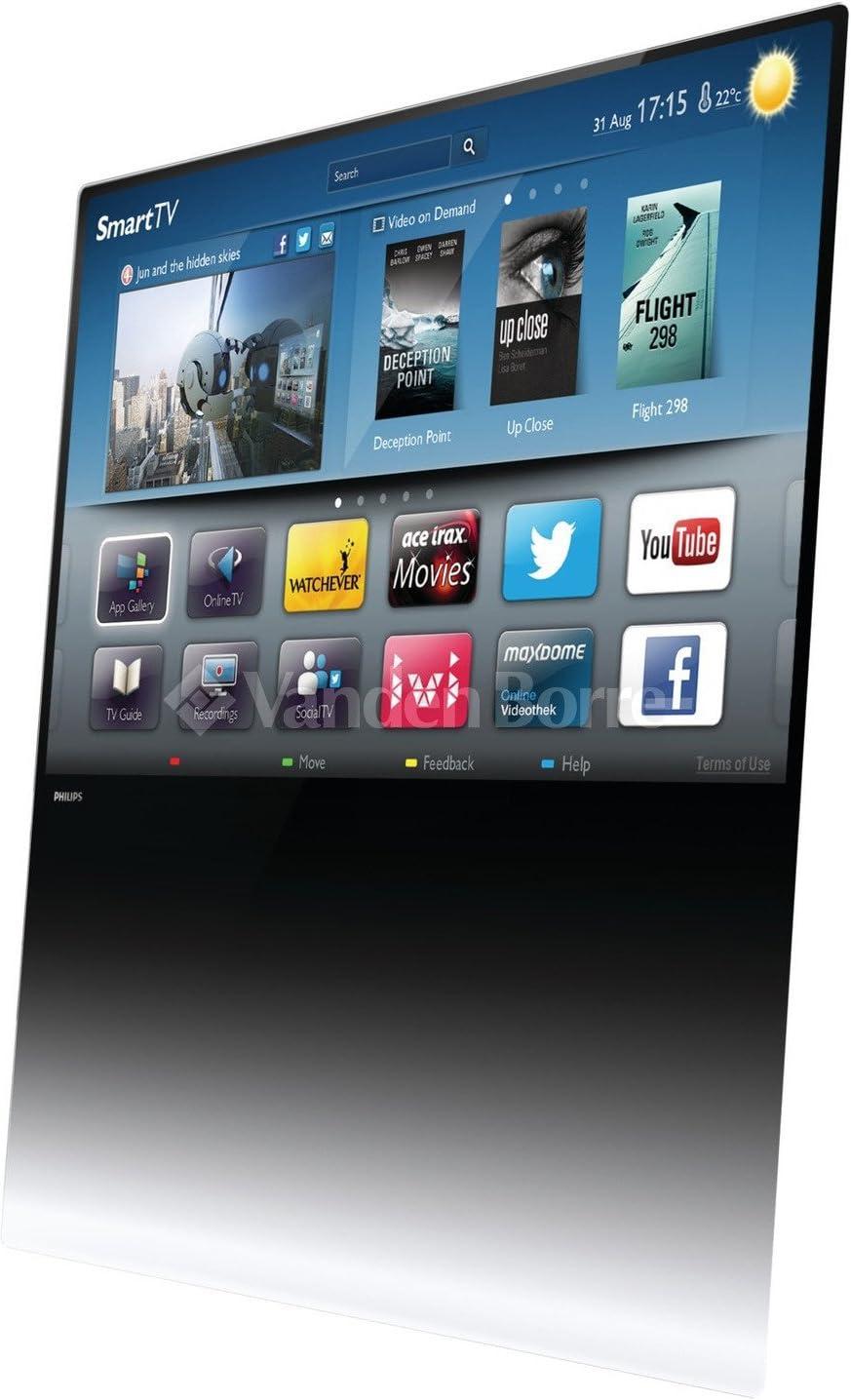 Philips DesignLine - Televisor (Full HD, 802.11n, A+, 16:9, 16:10, Zoom, 1920 x 1080 (HD 1080)): Amazon.es: Electrónica