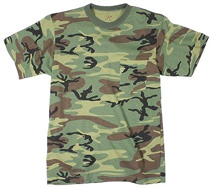 cf143aa4611 Amazon.com  Rothco Pocket T-Shirt  Sports   Outdoors