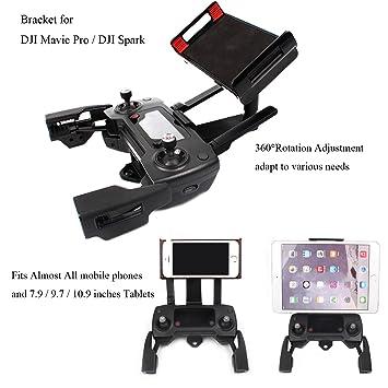 Adjustable Cellphone Tablet Monitor Holder Bracket for DJI Mavic ...