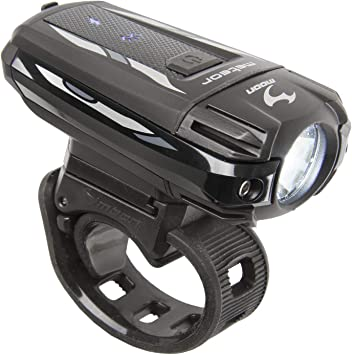 Moon Meteor - Luz frontal para bicicleta, recargable por USB, de ...