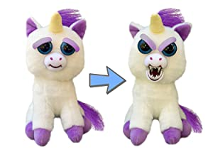 Feisty Pets Glenda Glitterpoop the Unicorn that Turns Feisty with a Squeeze