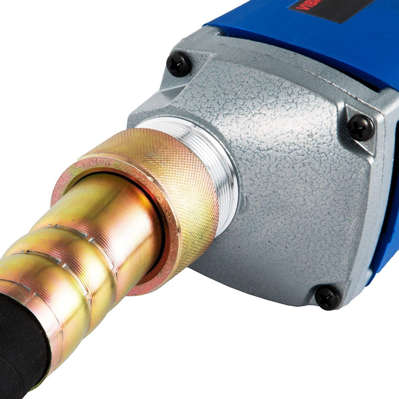 Moracle Vibrador Concreto El/éctrico Portable de la Coctelera de 800W 35MM 1,5 m Vibra el Concreto de la Botella con el Tubo de 1,5 m 800W