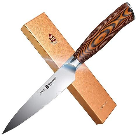 Amazon.com: TUO Cutlery – Cuchillo de despedida de acero ...